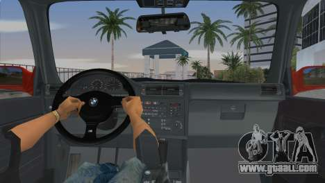 BMW M3 (E30) 1987 for GTA Vice City back left view