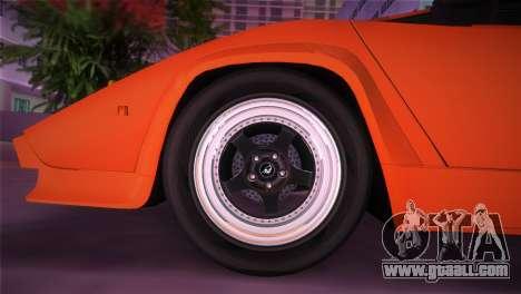 Lamborghini Countach LP5000 QV TT Custom for GTA Vice City right view