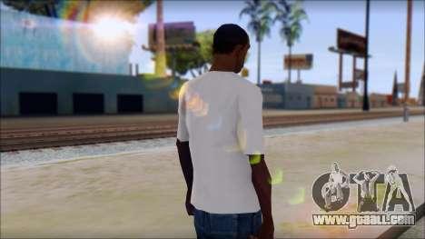 Johnny Bravo T-Shirt v1 for GTA San Andreas second screenshot