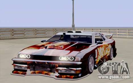 Paint work for Yakuza Elegy for GTA San Andreas right view