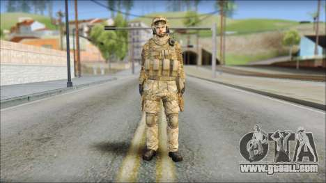 Desert SAS from Soldier Front 2 for GTA San Andreas