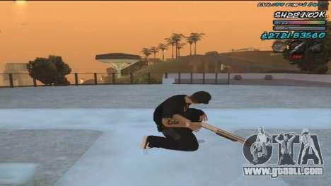 C-HUD by ShnoorOK for GTA San Andreas second screenshot