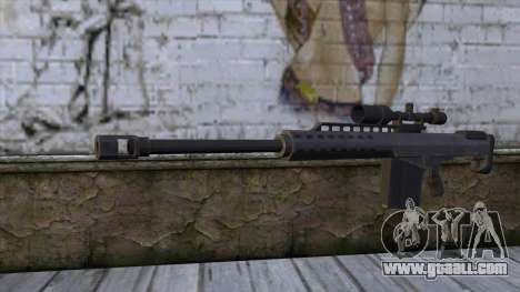 Heavy Sniper from GTA 5 v2 for GTA San Andreas