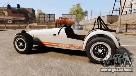 Caterham Seven 620 R for GTA 4 left view