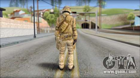 Desert SAS from Soldier Front 2 for GTA San Andreas second screenshot
