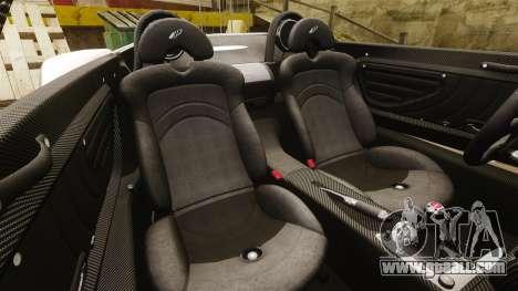 Pagani Zonda C12S Roadster 2001 v1.1 PJ1 for GTA 4 side view