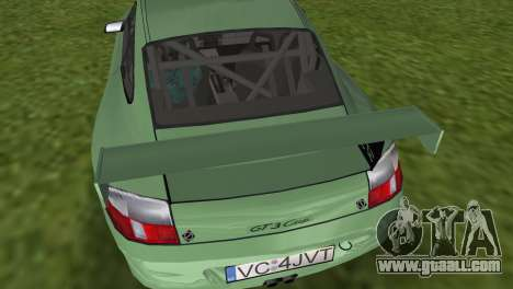 Porsche GT3 Cup 996 for GTA Vice City right view