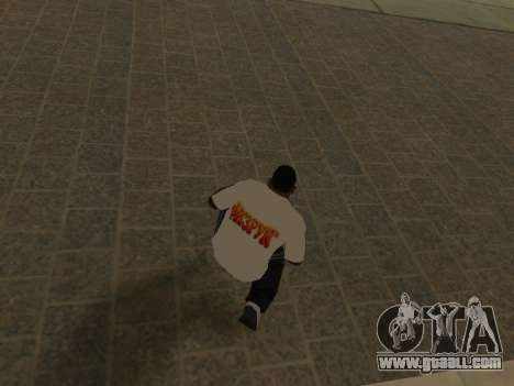 T-Shirt Teacher for GTA San Andreas forth screenshot