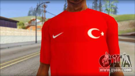 Turkish Football Uniform v4 for GTA San Andreas third screenshot