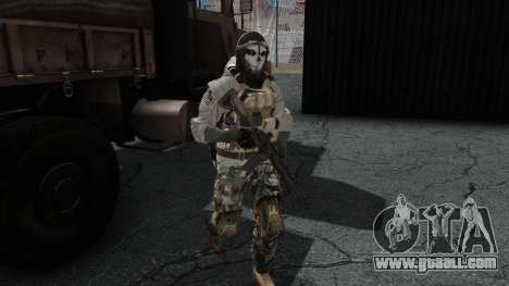 Army Ghost v1 for GTA San Andreas