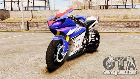 Yamaha YZF-R1 PJ1 for GTA 4