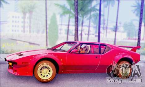 De Tomaso Pantera for GTA San Andreas