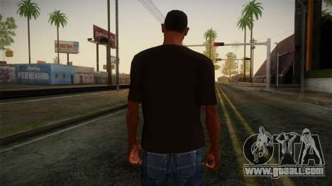 DC Shoes USA T-Shirt for GTA San Andreas second screenshot
