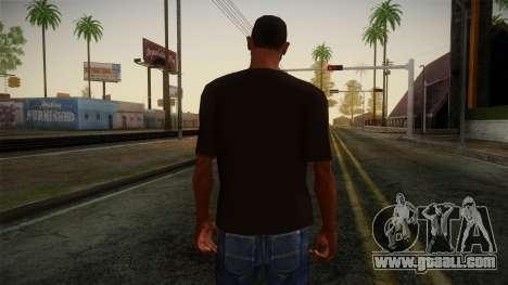 DC Shoes USA T-Shirt for GTA San Andreas second screenshot