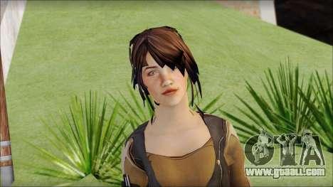 Rebecca for GTA San Andreas third screenshot