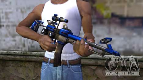 CartBlue from CSO NST for GTA San Andreas third screenshot