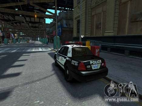 Ford Crown Victoria Police NYPD 2014 for GTA 4 left view