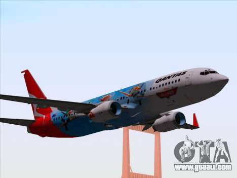 Boeing 737-800 Qantas for GTA San Andreas
