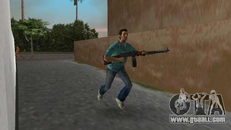 Degtyaryov's Manual Machinegun for GTA Vice City third screenshot