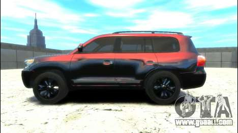 Toyota Land Cruiser 200 2013 for GTA 4 left view