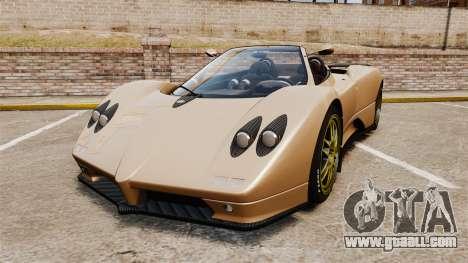 Pagani Zonda C12S Roadster 2001 v1.1 for GTA 4