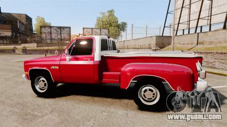GMC 454 Pick-Up Up for GTA 4 left view