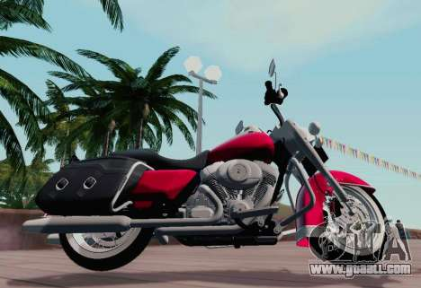 Harley-Davidson Road King Classic 2011 for GTA San Andreas left view