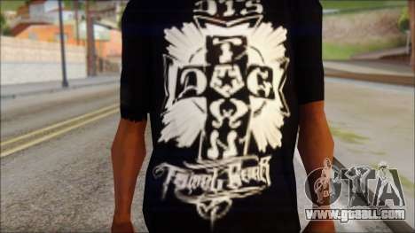 Tribal DOG Town T-Shirt Black for GTA San Andreas third screenshot