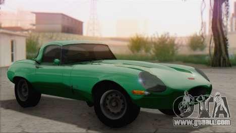 Jaguar E-Type for GTA San Andreas