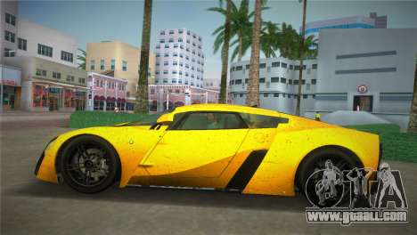Marussia B2 2010 for GTA Vice City back left view