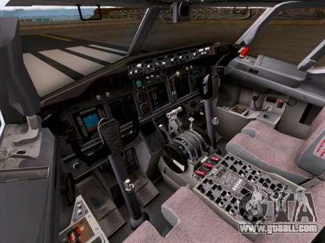 Boeing 737-800 Qantas for GTA San Andreas wheels