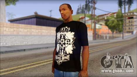 Tribal DOG Town T-Shirt Black for GTA San Andreas