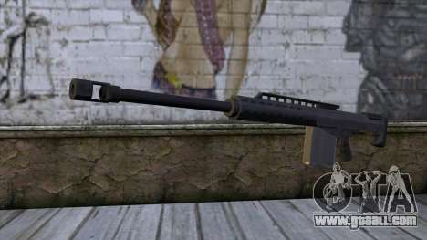 Heavy Sniper from GTA 5 for GTA San Andreas