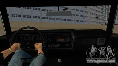 Chevrolet Chevelle SS for GTA Vice City back left view