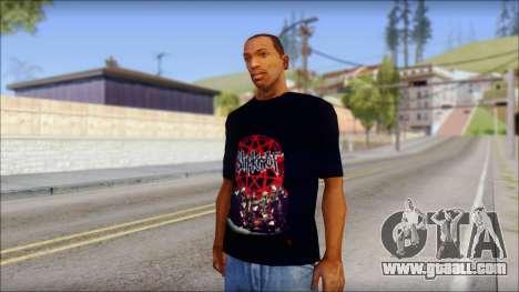 SlipKnoT T-Shirt v3 for GTA San Andreas