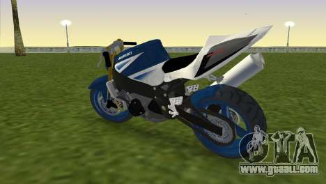 Suzuki GSX-R 1000 StreetFighter for GTA Vice City left view
