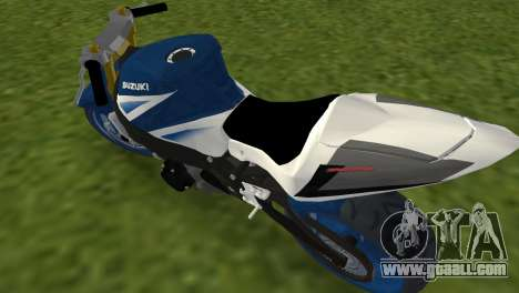 Suzuki GSX-R 1000 StreetFighter for GTA Vice City back left view