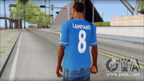 Chelsea FC 12-13 Home Jersey for GTA San Andreas second screenshot