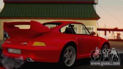 Porsche 911 GT2 (993) 1995 V1.0 EU Plate for GTA San Andreas left view