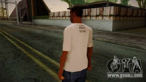 Dreambirds T-Shirt for GTA San Andreas second screenshot