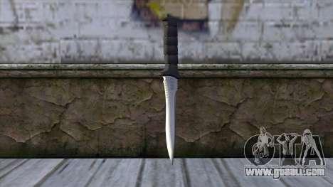 Knife from Resident Evil 6 v2 for GTA San Andreas