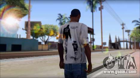 Terror T-Shirt Hardcore for GTA San Andreas second screenshot