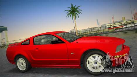 Ford Mustang GT 2005 for GTA Vice City left view