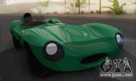 Jaguar D Type 1956 for GTA San Andreas