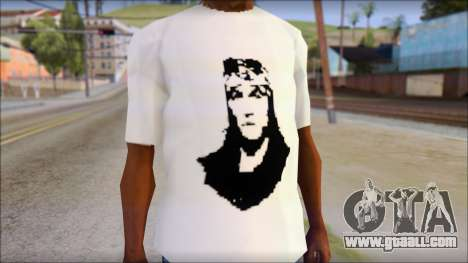 Axl Rose T-Shirt Mod for GTA San Andreas third screenshot