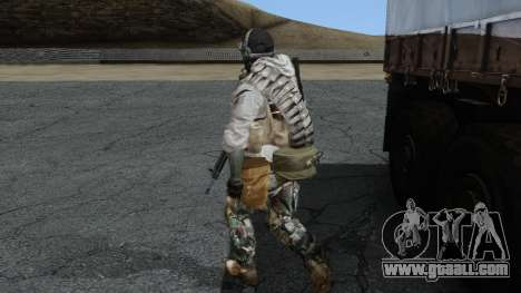 Army Ghost v1 for GTA San Andreas second screenshot