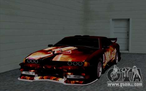Paint work for Yakuza Elegy for GTA San Andreas inner view