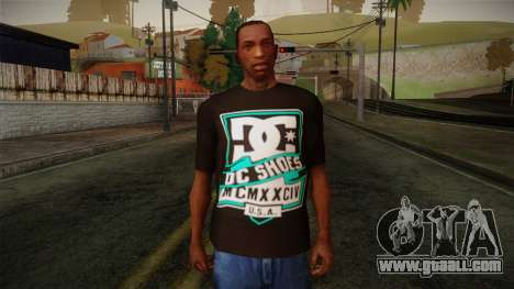 DC Shoes USA T-Shirt for GTA San Andreas