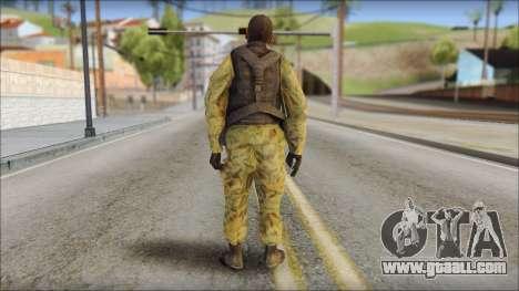 Afganistan Forces for GTA San Andreas second screenshot