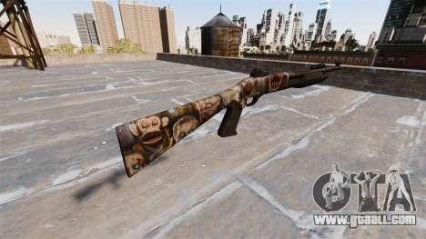 Ружьё Benelli M3 Super 90 zombies for GTA 4 second screenshot